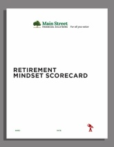 Retirement Mindset Scorecard
