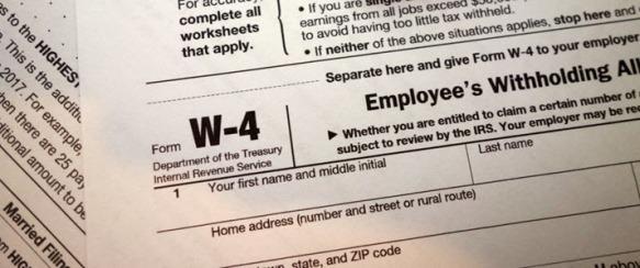 IRS W4